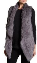Catherine Malandrino Genuine Rabbit Fur Vest
