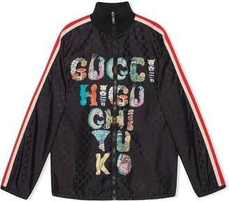 Gucci Kids Yuko Higuchi print GG jacket