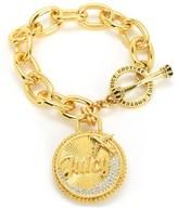 Juicy Couture Jet Set Coin Chain Bracelet