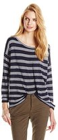 Joie Women's Florali Striped 3/4 Sleeve Top