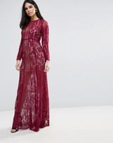 The Jetset Diaries Yasmine Lace Maxi Dress
