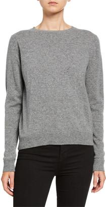 Catherine Osti Alexandrine Crewneck Wool Blend Sweater