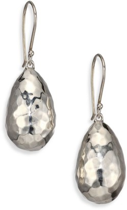 Ippolita Classico Small Sterling Silver Rain Drop Earrings