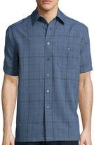 Haggar Short-Sleeve Microfiber Shirt