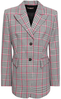 Michael Kors Collection Plaid Wool Blazer