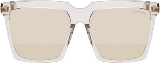 Tom Ford Transparent Sabrina Sunglasses