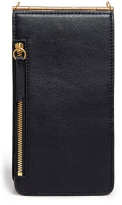 THACKER Nora Leather Phone Crossbody Bag