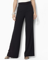 Lauren Ralph Lauren Wool Wide-Leg Pants