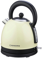 Cookworks Traditional Stainless Steel Cream Kettle