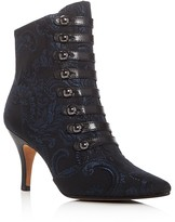 Donald J Pliner Tinsey Brocade Pointed Toe Booties