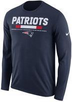 Nike Men's New England Patriots Legend Staff Long Sleeve T-Shirt