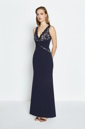 Coast Lace Bodice Jersey Maxi Dress