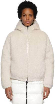 Moncler Kolima Faux Fur Casual Down Jacket
