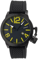 Breed Black & Yellow Falcon Swiss Watch