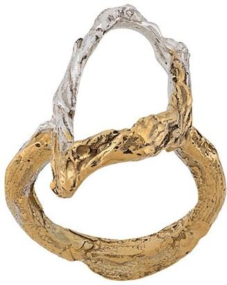 LOVENESS LEE Acacia abstract ring