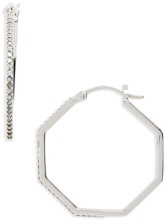 Judith Jack Women's Paradise Hoop Earrings