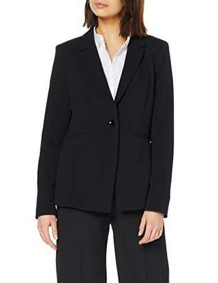 S'Oliver BLACK LABEL Women's 01.899.54.52 Suit Jacket, Black 9999, UK