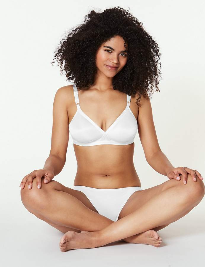 Marks and Spencer 2 Pack Non-Wired Crossover Full Cup A-E Bras