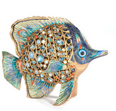 Jay Strongwater Weston Butterfly Fish Figurine