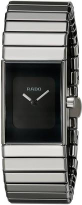 Rado Women's R21827232 Ceramica Black Dial Watch