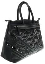 Versace Ee1vobbk6 E899 Black Satchel.