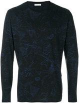 Etro constellations print longsleeved T-shirt - men - Cotton - S