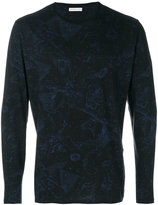 Etro constellations print longsleeved T-shirt