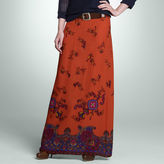 Jones New York Printed Maxi Skirt
