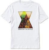 Armani Exchange NYC Picture Short-Sleeve Crew Neck Graphic Tee