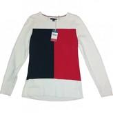 Tommy Hilfiger Beige Cotton Knitwear for Women