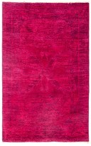 "Solo Rugs Vibrance Overdyed Area Rug, 3'2"" x 5'3"""