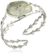 Barse Sterling Silver Labradorite Cuff Bracelet