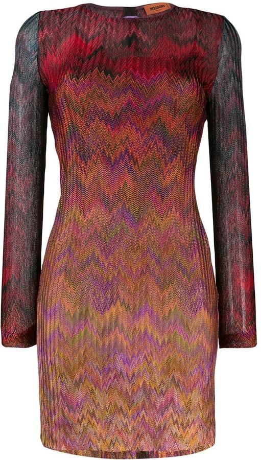 Missoni Chevron-Print Dress