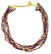 Yossi Harari 24K Garnet Multistrand Necklace