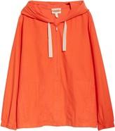 Eileen Fisher Organic Cotton Hooded Zip Jacket