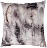 Gallery Distressed Feather Print Cushion