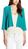 Vera Mont Women's 3/4 sleeve Blazer - Green -