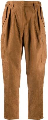 Liu Jo Cropped Cargo Trousers