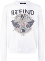 John Richmond refind print sweatshirt
