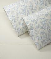 L.L. Bean Botanical Percale Pillowcases, Set of Two