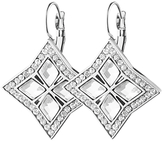 Dyrberg/Kern Dyrberg Kern Crystal Square Hook Drop Earrings, Silver