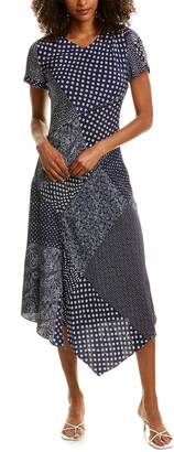 Diane von Furstenberg Briar Silk Midi Dress