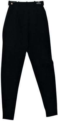 Hermã ̈S HermAs Black Wool Trousers