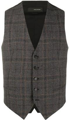Tagliatore Checked Waistcoat