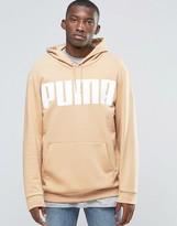 Puma Oversized Hoody In Tan