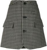 Helmut Lang houndstooth skirt