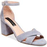 STEVEN by Steve Madden Voomme Ankle-Strap Block Heel Dress Sandals