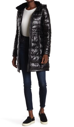 Andrew Marc Insulated Quilted Coat