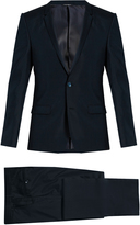 Dolce & Gabbana Notch-lapel silk tuxedo
