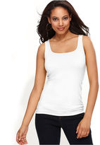 INC International Concepts Top, Sleeveless Square-Neck Tank